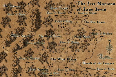 The Free Nations of East Jerus Map