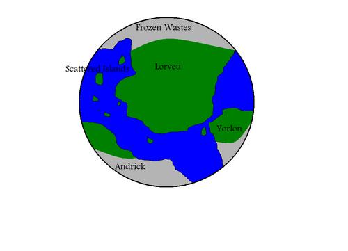 Baltos World Map