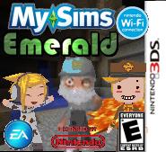 MySims Emerald Boxart (DS) (New!)