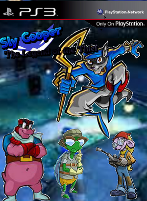 Sly Cooper The Legend of The Thief Boxart