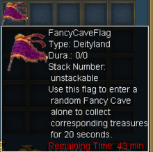 Fancy Cave Flag