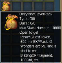 Deityland Slayer Pack