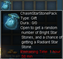Chasm Star Stone Pack
