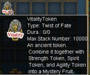Vitality token
