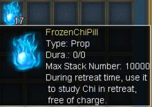 Frozen chi pill