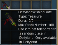 Deityland Wishing Gate