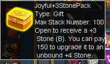 Joyful +3 Stone Pack