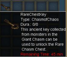 Rare key