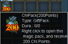 200 chi pack
