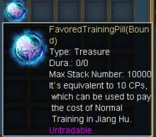 Favored Training Pill-0