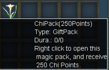 250 chi points