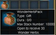 Wonderherbpack