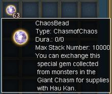 Chaos bead