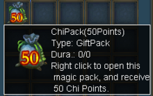 50 chi pack
