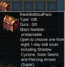 Rare Skill Soul Pack