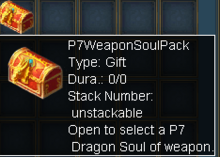 P7 Weapon Soul Pack