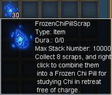 Frozen chi scrap