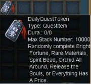 Daily Quest Token