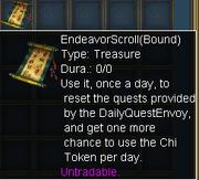 Endeavor Scroll