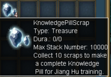 Knowledge Pill Scrap
