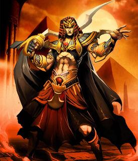 King Atum Benben XIII