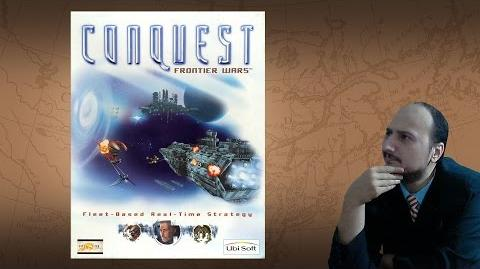 """Gaming History Conquest Frontier Wars """"The mini 4X Space RTS"""""""