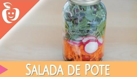 Salada no Pote Como conservar as suas saladas