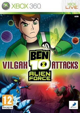 Ben 10 Alien Force Vilgax Attacks Caratula