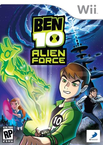 Ben 10 Alien The Game Caratula
