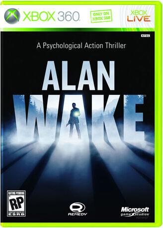 Alan Wake Caratula