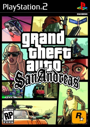 Grand Theft Auto San Andreas Caratula