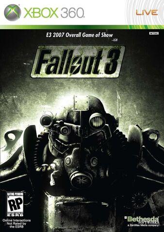 Fallout 3 Caratula