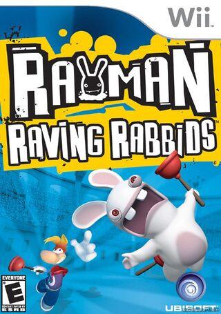 Rayman Raving Rabbid Caratula