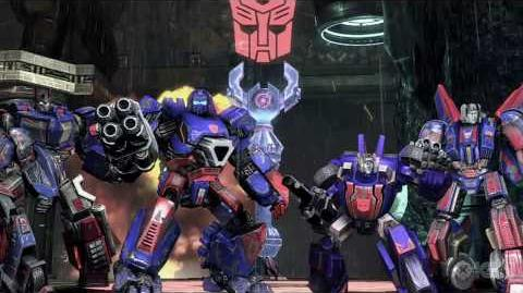 Transformers War For Cybertron Multiplayer Trailer