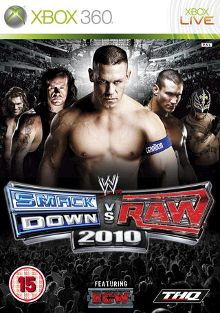 SmackDown Vs. Raw 2010 Caratula