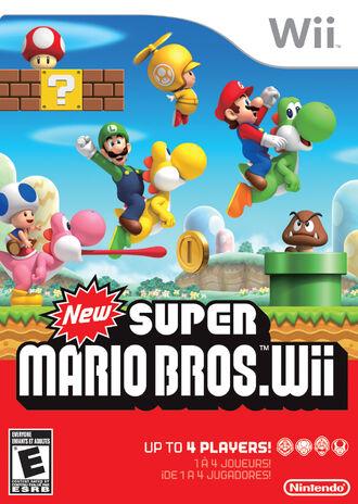 New Super Mario Bros Caratula