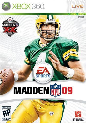 Madden NFL 09 Caratula