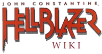 Hellblazer wordmark