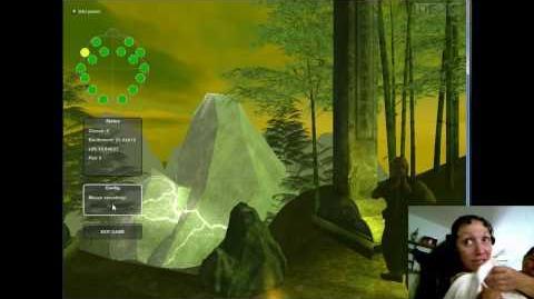 Emotiv gameplay clip