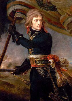 800px-1801 Antoine-Jean Gros - Bonaparte on the Bridge at Arcole
