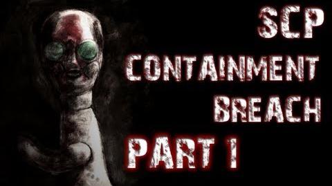 SCP Containment Breach Part 1 A TERRIFYING START