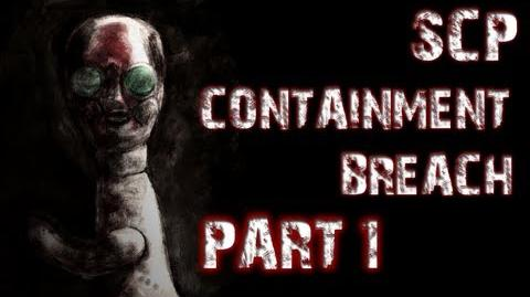 SCP Containment Breach Part 1 A TERRIFYING START