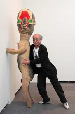 Izumi kato and sculpture