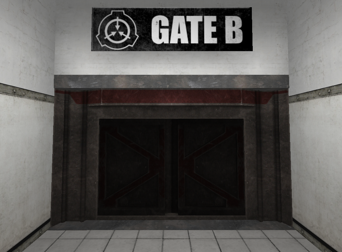 Gate B | SCP - Containment Breach Wiki | FANDOM powered by Wikia