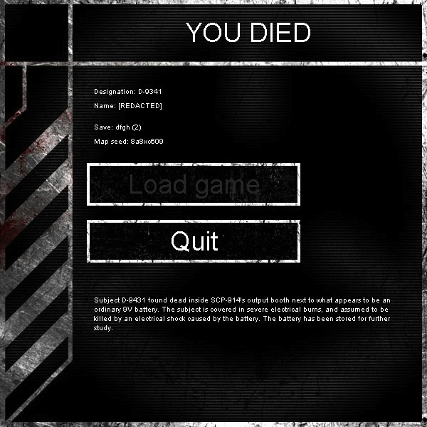 Death Messages | SCP - Containment Breach Wiki | FANDOM powered by Wikia