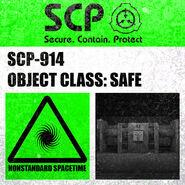 SCP-914 label