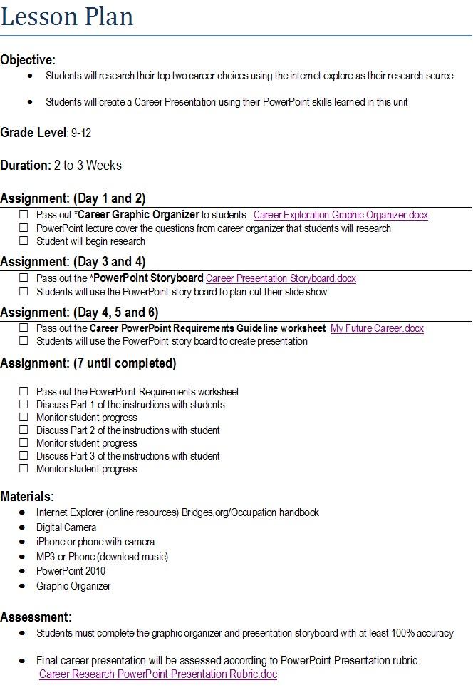 Lesson Plan Organizer Tachrisaniemiec