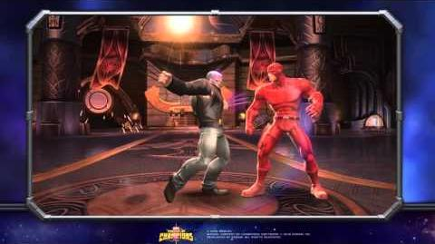 Old Man Logan Special Moves Marvel Contest of Champions