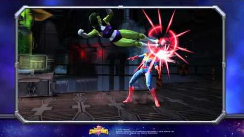 She-Hulk Special Moves Marvel Contest of Champions