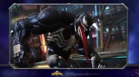 Venom Special Moves Marvel Contest of Champions